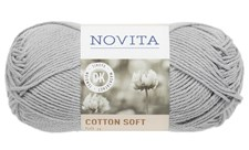 Novita Cotton Soft 50 g, Helmi 405