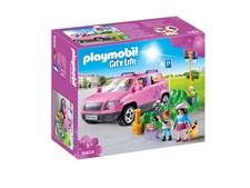 Familjebil med parkeringsplats, Playmobil City Life (9404)