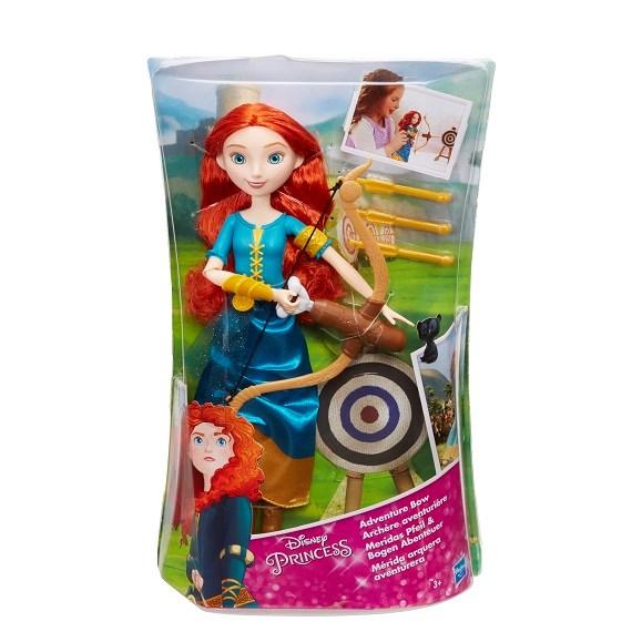 Merida  Adventure Bow  Disney Princess - dockor & tillbehör