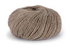 Du store Alpakka Mini Sterk Lanka Alpakkavilla Villa Mix 50 g vaalea ruskea melee 823