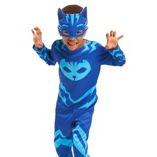 Maskeradkläder, Kattpojken 4-6 år, Pyjamashjältarna