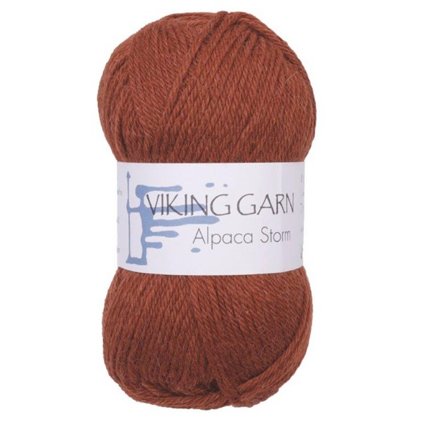 Viking of Norway Alpaca Storm 50 gr Rust 552