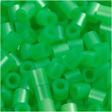 Rörpärlor 5x5 mm 6000 st Grön Pärlemor (22)