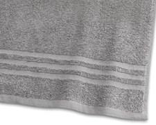 Borganäs of Sweden Basic Frotté badehåndklær 100% bomull 90x150 cm Gray
