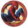 Spiderman Homecoming Papptallrikar, 8 st