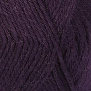 Drops Lima Uni Colour Garn Ullmix 50g Dark Purple 4377