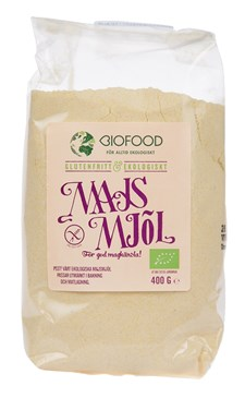 Biofood Majsmjöl 400 g Ekologisk