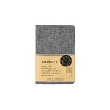 EOS Notebook A6 linjerad, Grå