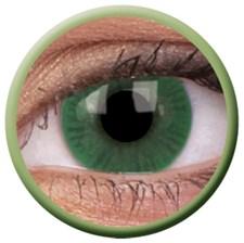 Fargede linser grønn