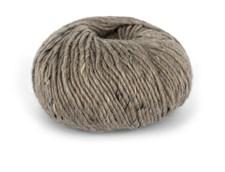 Du store Alpakka Tweed Garn Ullmix 50 g Lys Brun 108