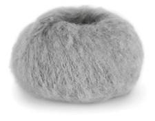 Du Store Alpakka Faerytale Garn 50 g Lys grå 732