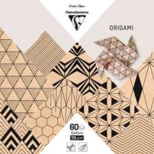 Origami, 60 arkkia, 15 x 15 cm, Krafty