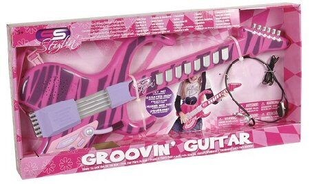 Gitarr 58cm med Headset  Summertime - musikleksaker