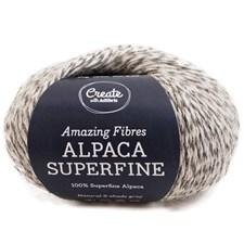 Adlibris Alpaca Superfine 50g Natural 2-shade grey A202