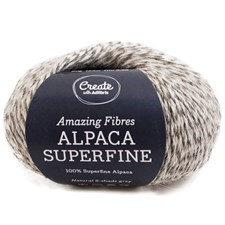 Adlibris Alpaca Superfine, 50 g, Natural Beige A205