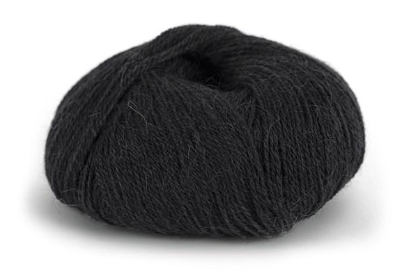 Knit At Home Superfine Alpaca Merino Alpakkavilla Mix 50 g musta 101