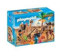 Haudanryöstäjän leiri, Playmobil History (5387)