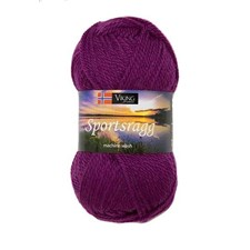 Viking of Norway Sportsragg Garn Ullmix 50g Ljung 569