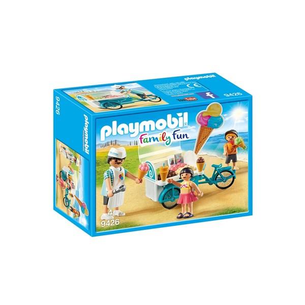 Cykel med glassvagn  Playmobil Family Fun (9426) - playmobil