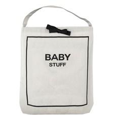 Bag-all Baby Couture Tøypose 100% Bomull 33x31x6 cm Svart/Hvit