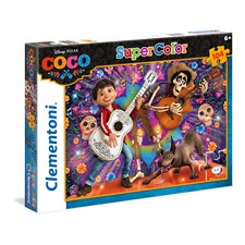 Puslespill SuperColor Coco, 104 brikker, Clementoni