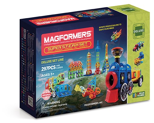 Inget (Storm) Magformers - Super S.T.E.A.M. Set