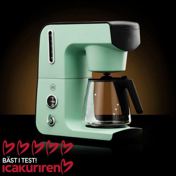 OBH Nordica Legacy Intensive Kaffebryggare Turkos - kaffe & teberödning