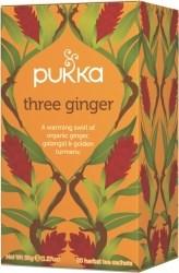 Pukka Te Three Ginger Tepåsar 20 st Ekologisk