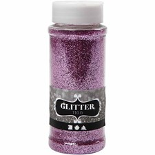 Glitter, 110 g, pink