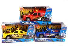 Muscle Racer Auto Valo- ja Äänitehosteilla 21 cm, Punainen