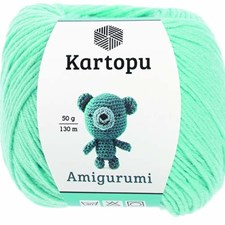 Kartopu Amigurumi 50g Neon Mint K551