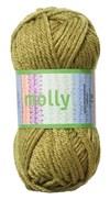 Molly Akrylgarn 50 g Olivgrön (35032)