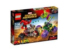 Hulk mot Red Hulk, LEGO Super Heroes (76078)