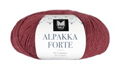 Dale Garn Alpakka Forte 50 g chilinpunainen meleerattu 704