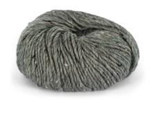 Du store Alpakka Tweed Garn Ullmix 50 g Mørk Grå 102