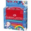 Jumbo Grip Gaveeske Metall 18 farger Faber-Castell