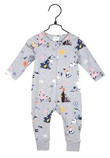 Höststund pyjamas grå, strl 62, mumin