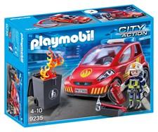 Brandman med bil, Playmobil City Action (9235)