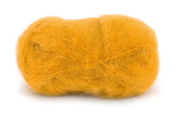 Dale Garn Line Langmo Påfugl Mohair Mix 50 g Majs gul 7902