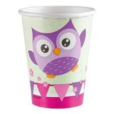 Happy Owl, Kopper, 8 stk.