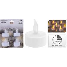 LED-värmeljus, 4-pack