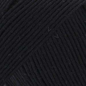 Drops Safran Garn Bomull 50 g svart 16