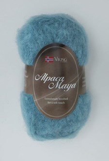 Viking of Norway Alpaca Maya Garn Alpackamix 50g Turkos 768