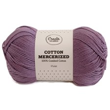 Adlibris Cotton Mercerized 100g Violet A307