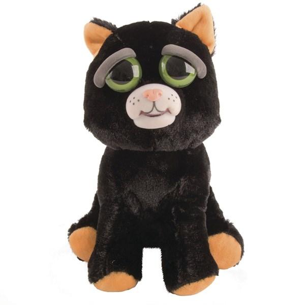 Feisty Pets svart Cat  Feisty Pets - gosedjur