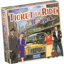 Ticket To Ride, New York Expansion, Familjespel (SE/FI/NO/DK)