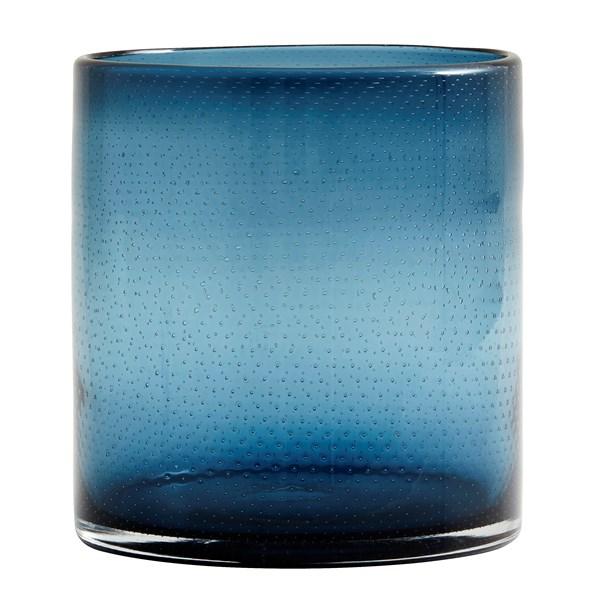 Nordal BUBBLE Värmeljushållare Glas D 15 cm  H 16 cm (lila  blå & grå)