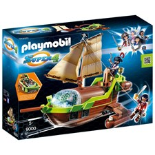 Piratrymdskepp, Playmobil (9000)