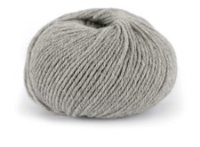 Dale Garn Pure Eco Wool Økologisk Ull Alpakka 50g 1202 Lys Grå Melert