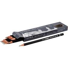 Art Design -lyijykynät, halk. 6,9 mm,  1,8 mm, vahvuus HB, 12kpl